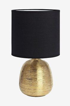 Markslöjd OSCAR Bordlampe Gull/svart - Gull - Hjem & innredning - Ellos.no Oscars, Table Lamp, Shades, Lighting, Home Decor, House, Pedestal, Homemade Home Decor, Academy Awards