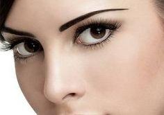 orta kahverengi gözler için makyaj