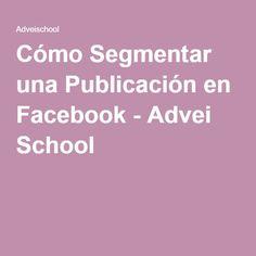 Cómo Segmentar una Publicación en Facebook - Advei School