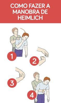 A manobra de Heimlich é uma técnica de primeiros socorros para asfixia que deve ser realizada quando a vítima estiver engasgada, a fim de retirar um pedaço de alimento ou qualquer outro objeto da traqueia, facilitando a passagem de ar para os pulmões e evitando o sufocamento.