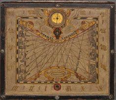 Planetenuhr by Isaac Kiening, 1569 (MDZ)