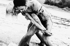 A mud fight: let's have one.