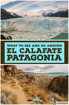 There's more to El Calafate than just the Perito Moreno Glacier. Here's our guide to the best things to see and do around El Calafate in Argentine Patagonia.   #Elcalafate #patagonia #argentina
