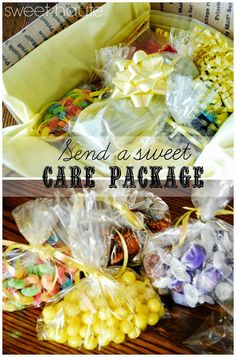 Send a creative care package! Great gift idea: SWEET HAUTE