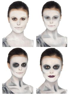 Ghost Ship Make Up Kit Fancy Dress Accessories Costume