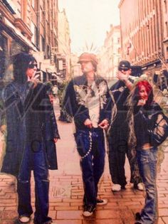 This image is called ' lost in Oslo' with Nikki Sixx, Tommy Lee and Alicia Shultz..and Kimo!