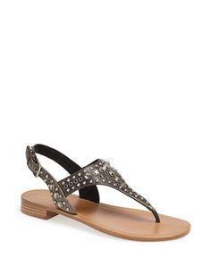 PRADA Studded Sandal