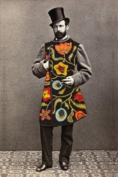 Fabulous Gentlemen - Eugenia's Collages