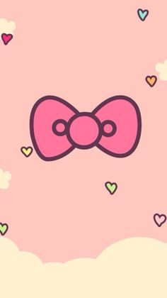 Bow Wallpaper, Sanrio Wallpaper, Disney Phone Wallpaper, Couple Wallpaper, Kawaii Wallpaper, Cartoon Wallpaper, Wallpaper Backgrounds, Hello Kitty Backgrounds, Hello Kitty Wallpaper