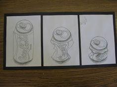 ART with Mrs. Smith: Soda Can Triptychs
