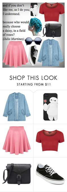 """""""A daisy in a field of roses"""" by mackandlil ❤ liked on Polyvore featuring Steve J & Yoni P, Topshop and Vans"""