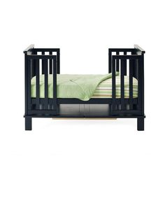Black Langston Convertible Crib