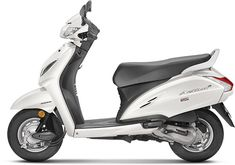 2018 Honda Activa Price in India New Colours (Yellow, White activa white color - White Things Silver Color, Black Silver, Gray Color, Pink Color, Honda Scooter Models, Honda Scooters, Honda Motorcycles, Honda New Bike, Automatic Cars For Sale