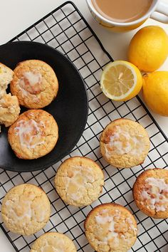 Lemon Honey Muffins - Simple Green Moms Healthy, Light and Paleo! Added cup of Chia seeds to the recipe Breakfast Bake, Perfect Breakfast, Paleo Breakfast, Paleo Sweets, Paleo Dessert, Honey Muffins Recipe, Muffins Blueberry, Lemon Muffins, Cake Candy