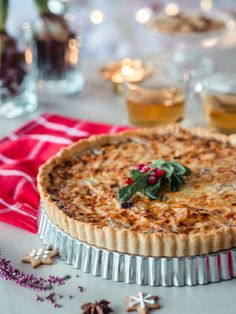 Poropiirakka | Annin Uunissa Christmas Inspiration, No Bake Cake, Yummy Food, Bread, Baking, Desserts, Recipes, Tarts, Dinners