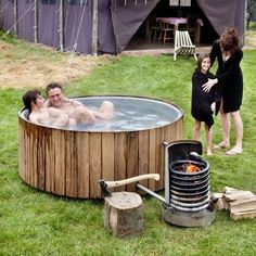 🎁 Get 50 Woodworking Plans & a Guide Book Absolutely FREE! by Best Ideas For Wood Worker Jacuzzi Outdoor, Outdoor Baths, Outdoor Bathrooms, Piscine Diy, Outdoor Wood Projects, Living Pool, Stock Tank Pool, Wood Worker, Pool Designs