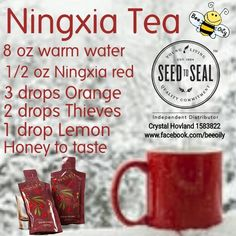 Young Living Essential Oils: Ningxia Tea