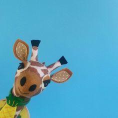 Gladys the Giraffe faux taxidermy