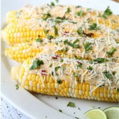 Chipotle Lime Roasted Corn