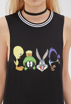Looney Tunes Muscle Tee | Forever 21 - 2000118564