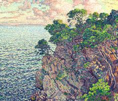 The Point of Rossignol - Theo van Rysselberghe