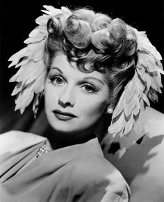 Lucille Ball in the 1940's