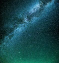 The Milky Way and Andromeda by Patrick Phelan on 500px