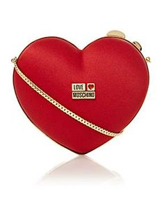 Love Moschino Heart clutch bag - House of Fraser