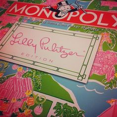 #Lilly #Pulitzer #monopoly! This is the coolest dang thing I've ever seen!!!