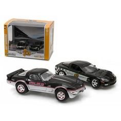 1978 & 2008 Chevrolet Corvette Indianapolis Indy 500 Pace Cars Set of 2 1/64 Diecast Model Cars by Greenlight