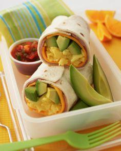 Avocado Breakfast Burrito Recipe