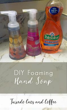 It's easy to make your own DIY foaming hand soap once you know the secret.  In this quick post I'll show you how to make your own DIY foaming hand soap for just pennies per refill so you can save money!