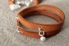 DIY: Leather bracelet