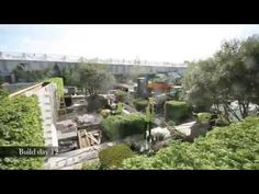 Great fast action video of the garden construction Marcus Barnett for Daily Telegraph garden