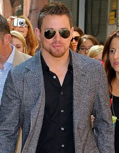 Channing Tatum arrives for taping of Live with Kelly and Michael