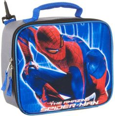 Spiderman Lunch Bag With Shoulder Strap 115