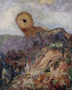 Le Cyclope, par Odilon Redon