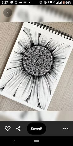 Mandala Canvas, Mandala Artwork, Pencil Art Drawings, Art Sketches, Mandala Art Lesson, Doodle Art Designs, Zentangle Patterns, Mandala Design, Mehendi