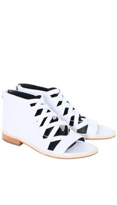 Cosima Sandal - Flats & Loafers - Shoes   Shop   Tibi