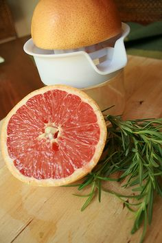 Grapefruit & Rosemary Jelly - interesting...this could be really good!