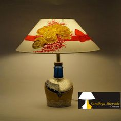 Creative without strategy is called art,creative with strategy is called advertising keep ligtening your home. http://www.sandhyashevadecreations.com/.