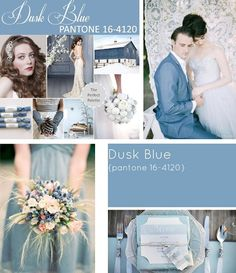Dusk Blue featured in our #FB posts earlier in Jan! Such a fabulous colour for anything, especially a wedding scheme.