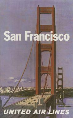 Free Vintage Printable Posters, Retro Artwork, Vintage Print Download: travel