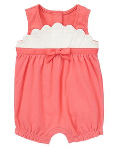 Gymboree Seashell Bubble One Piece