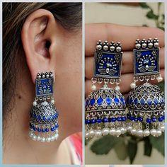 Jewellery Organizer Ideas this Jewellery Shops Kildare Village neither Ear Jewellery Near Me Indian Jewelry Earrings, Silver Jewellery Indian, Jewelry Design Earrings, Indian Wedding Jewelry, Ear Jewelry, Jewelery, Silver Jewelry, India Jewelry, Ethnic Jewelry