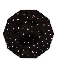 Halloween Moons & Stars Large Plates