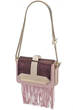 Vendôme Chaine & Fringe Shoulder Clutch by Azzaro. Gifts Section: http://www.precouture.com/en/7039-gifts