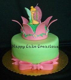 Parents with Kids: Tinkerbell Cakes