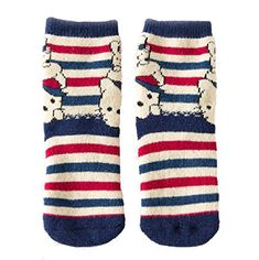 Beauty Nymph 2pairs Winter Socks Cute Cat and Rabbit Cotton Towel Socks M46years >>> To view further for this item, visit the image link.