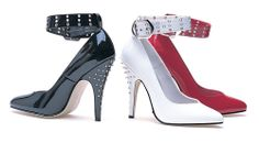 The Violet Vixen - Riveting Spiked Heels, $65.99 (http://thevioletvixen.com/shoes/riveting-spiked-heels/)